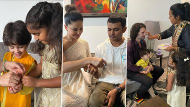 Sunny Leone's Rakhi Celebration With Family Was All About Rituals and a Lots of Happy Pictures