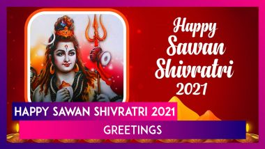 Sawan Shivratri 2021 Wishes and Messages: WhatsApp Greetings and Quotes To Celebrate Hindu Festival