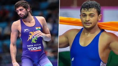 Ravi Kumar Dahiya, Deepak Punia's Gold & Bronze Medal Matches at Tokyo Olympics 2020 Live Streaming Online: Get Telecast Details & TV Channels For Wrestling Bouts In IST
