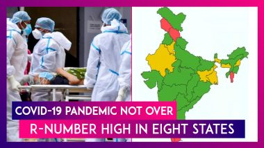 Covid-19 Pandemic Not Over, R-Number High In Eight States Cautions Union Health Ministry