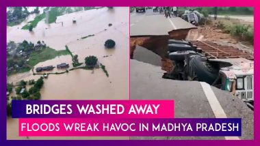 Bridges Washed Away In Flood Fury As Parts Of Madhya Pradesh Reel Under Intense Rains