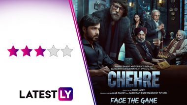 Chehre Movie Review: Amitabh Bachchan and Emraan Hashmi's Sincere Performances Save This Predictable, Preachy Thriller! (LatestLY Exclusive)