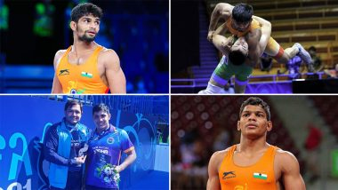 Indians Finish With Six Medals in Men's Freestyle Events at World Junior Wrestling Championships 2021