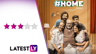 #Home Movie Review: Indrans, Sreenath Bhasi Impress in a Feel-Good Family Drama With Poignant Moments (LatestLY Exclusive)