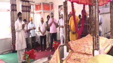 Sikh Community Thanks PM Narendra Modi for Bringing Back Guru Granth Sahib 'Saroops' From Afghanistan