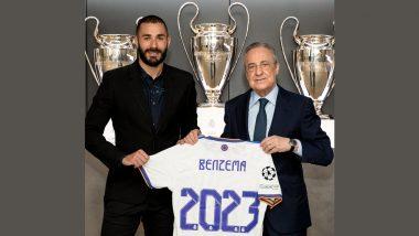 Karim Benzema Signs New Contract at Real Madrid Till 2023