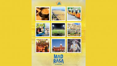 Madras Day 2021: CSK Wishes Fans on Twitter, Shares Video of Suresh Raina, Robin Uthappa and Other Players Speaking in Tamil