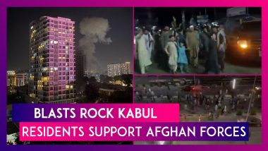 Afghanistan: After Blasts Rock Kabul, Residents Come To The Streets To Chant, Support Afghan Defence Forces