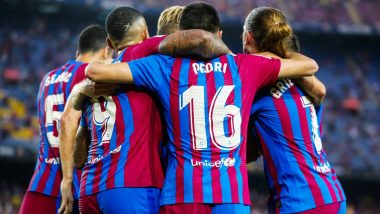 Barcelona vs Granada, La Liga 2021-22 Free Live Streaming Online & Match Time in IST: How To Get Live Telecast on TV & Football Score Updates in India?