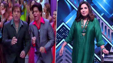 Govinda Choreographed Shah Rukh Khan In Deewangi Deewangi Track From Om Shanti Om; Farah Khan Reveals