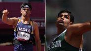 Neeraj Chopra and Arshad Nadeem To Reignite India-Pakistan Rivalry in Javelin Throw Final Event at Tokyo Olympics 2020