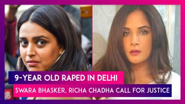 9-Year Old Raped In Delhi: Outrage Grows, Celebs Like Swara Bhasker, Richa Chadha Call For Justice