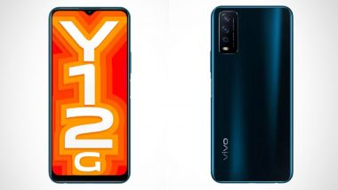 Vivo Y12G Smartphone With Snapdragon 439 SoC Launched in India at Rs 10,990; Check Features & Specifications