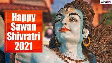 Sawan Shivratri 2021 Date in August & Shubh Muhurat: Shravan Shivaratri Puja Vidhi, Holy Fasting Rituals, Significance and Celebrations