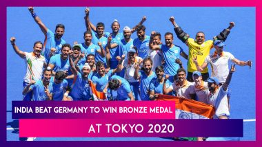 India End Four Decade Medal Wait In Men's Hockey At Olympics With Bronze At Tokyo 2020
