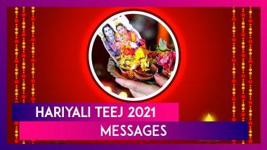 Hariyali Teej 2021 Wishes, Shravan Teej Images, Greetings and Wallpapers To Wish Happy Choti Teej