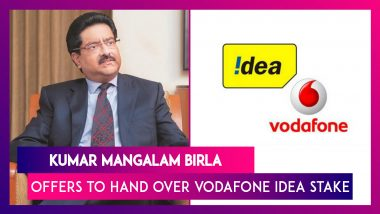 Kumar Mangalam Birla Wrote To Union Govt, Offering To Hand Over Vodafone Idea Stake