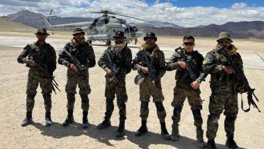 Garud Commando Force Deployed Along LAC in Eastern Ladakh, Says Lok Sabha MP Jamyang Tsering Namgyal