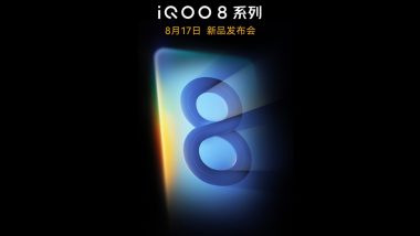 iQOO 8 Likely To Come With Flat Display & 120W Fast Charging: Report