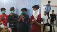 Uttar Pradesh: Four Youths Make TikTok Video Inside Avadhpuri Police Station, Arrested (Watch Video)