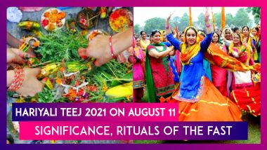 Hariyali Teej 2021 On August 11: Significance, Rituals Of The Fast