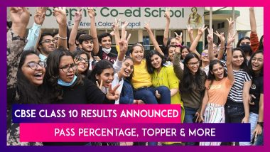 CBSE Class 10 Results Announced, Know The Pass Percentage, Topper And More