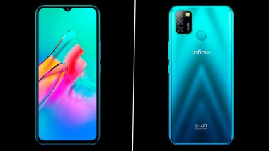 Infinix Smart 5A With MediaTek Helio A20 SoC Launched in India