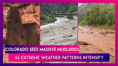 Colorado Sees Mudslides, Flash-flood Warnings In Place, Major Interstate Highway I-70 Shut As Extreme Weather Patterns Intensify