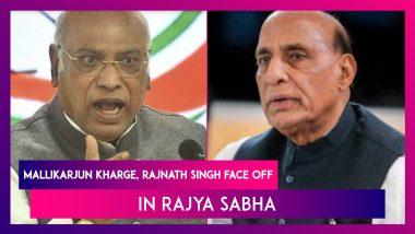 Mallikarjun Kharge, Rajnath Singh Face Off In Rajya Sabha Over Monsoon Session Deadlock In Parliament
