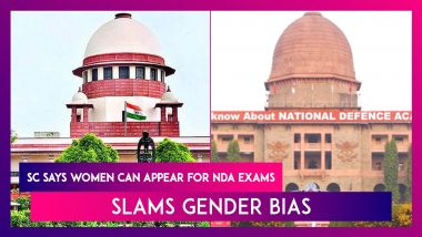 Supreme Court Says Women Can Appear For NDA Exams, Slams Gender Bias