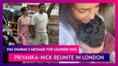Kim Sharma Posts Lovely Message For Leander Paes On 25 Years Of Olympic Medal Victory; Priyanka Chopra-Nick Jonas Reunite In London