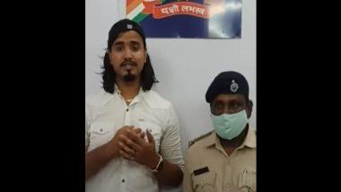 Instagram Influencer Adarsh Shukla Arrested Over Stunt on Railway Tracks, Apologises (Watch Video)