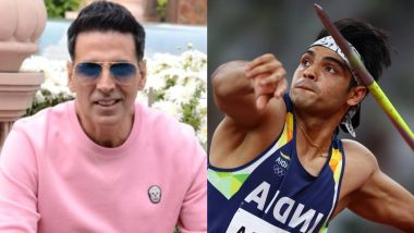 Akshay Kumar Wants Golden Boy Neeraj Chopra To Play Him in His Biopic, Also Reacts to The Javelin Meme!