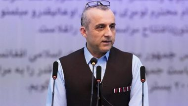 Kabul Attack: 'Talibs Denying Links with ISIS is Similar to Denial of Pak on Quetta Shura,' Says Afghan Acting President Amrullah Saleh