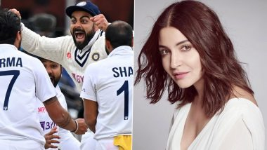Anushka Sharma Cheers for Virat Kohli and Team India After They Win Against England at the Lord's!