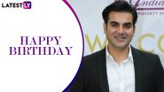 Arbaaz Khan Birthday Special: 5 Rare Childhood Pics of the Actor That Are Super Adorable