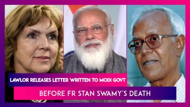 Mary Lawlor, UN Rapporteur On Human Rights Releases Letter Written To Modi Govt Before Fr Stan Swamy's Death