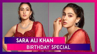 Sara Ali Khan's 26th Birthday: Actor Shares Precious Memories With Saif Ali Khan & Mom Amrita Singh; Wishes Pour In From Kareena Kapoor, Janhvi Kapoor & Others