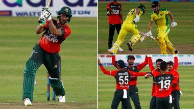 Bangladesh vs Australia 3rd T20I 2021 Live Streaming Online On FanCode: Get BAN vs AUS Cricket Match Free TV Channel and Live Telecast Details On Gazi TV