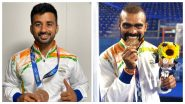 PR Sreejesh & Manpreet Singh Share a Photo Wearing Bronze Medal After 5-4 Win Against Germany at Tokyo Olympics 2020 (See Pics)
