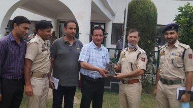 Jammu and Kashmir: 1,200-Year-Old Stone Idol of Goddess Durga Recovered in Budgam