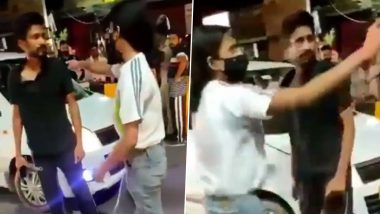 Lucknow Girl Thrashes Cab Driver In Middle Of Road At Awadh Crossing; DCW Chief Swati Maliwal Demands Action Against The Girl After Video Goes Viral