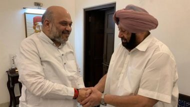 Punjab CM Captain Amarinder Singh Meets Amit Shah, Demands Immediate Repeal of New Farm Laws