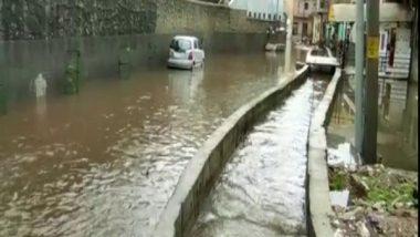 Rajasthan Rains: Heavy Rainfall Causes Waterlogging in Streets of Ajmer