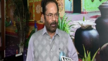India News | Opposition Trying to Hijack Parliament Proceedings: Mukhtar Abbas Naqvi