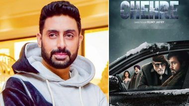 Chehre: Abhishek Bachchan Sends Best Wishes to Father Amitabh Bachchan for His Film With a Special Post