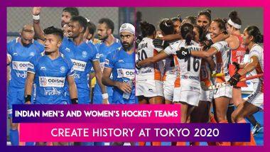 Indian Men's and Women's Hockey Teams Seal Historic Wins At Tokyo Olympics 2020