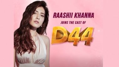 D44: Raashii Khanna Joins The Cast Of Dhanush's Film (Watch Video)