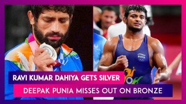 Tokyo Olympics 2020: Ravi Kumar Dahiya Settles for Silver, Deepak Punia Misses Out on Bronze Medal