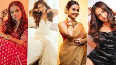 Devoleena Bhattacharjee Birthday Special: Traditional to Modern, This Bigg Boss Star's Fashion Sense Is Always On Point (View Pics)